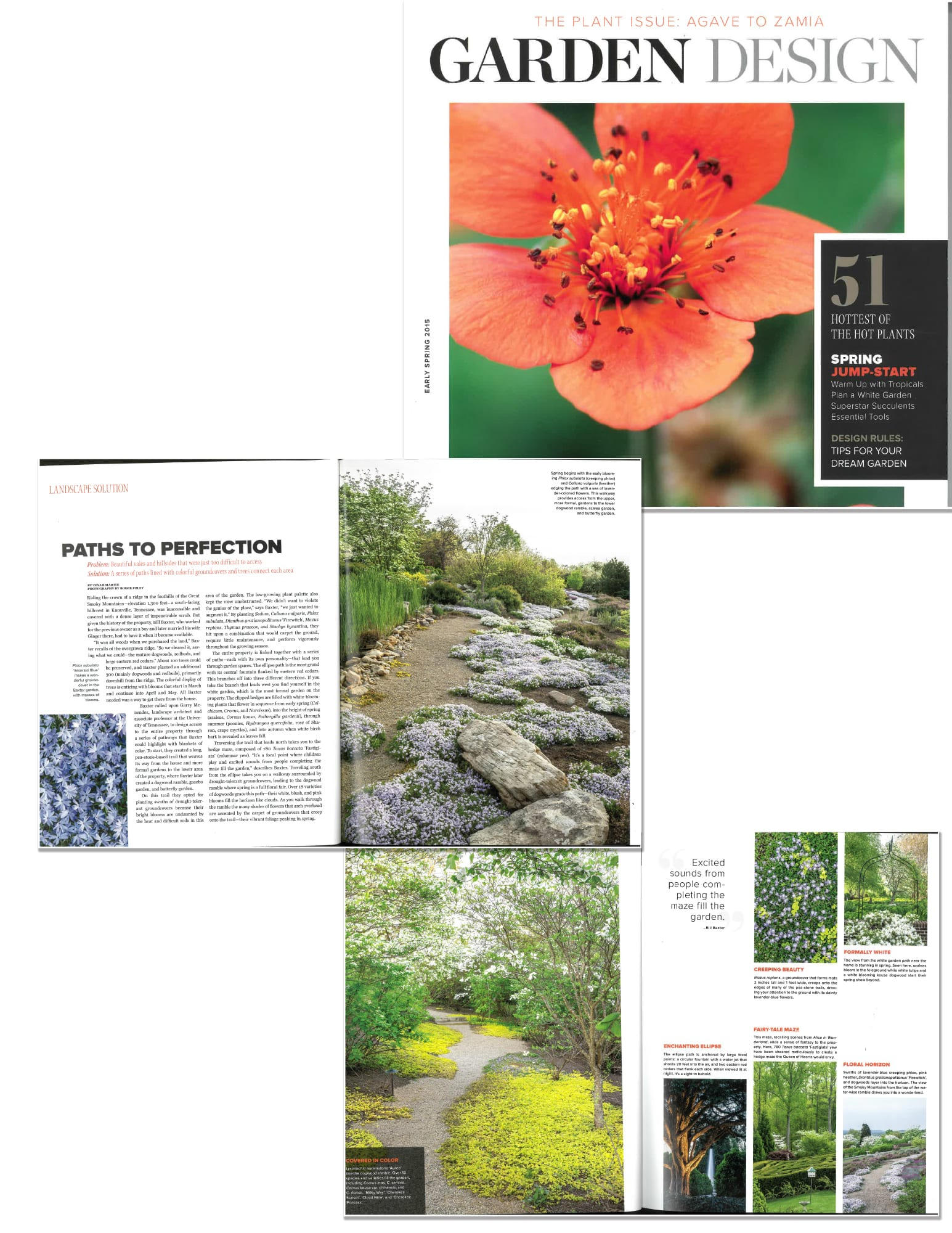 Baxter Gardens Southern Living magazine feature